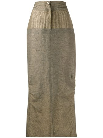 Gianfranco Ferré Pre-Owned 1990s Maxi Skirt - Farfetch