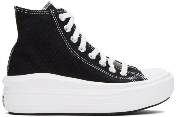 Black Chuck Taylor All Star Move Sneakers