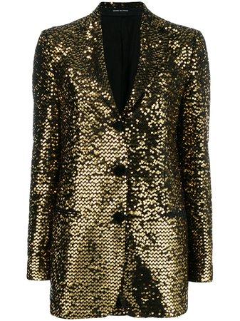 Tagliatore Sequin Embroidered Blazer - Farfetch