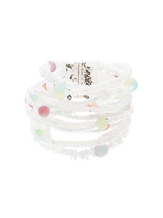 Chanel Pre-Owned 1999 Stone Motif Bracelet Vintage | Farfetch.com