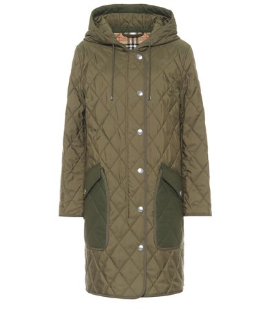 Quilted Coat - Burberry | Mytheresa