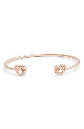 kate spade new york double loves me knot cuff bracelet | Nordstrom
