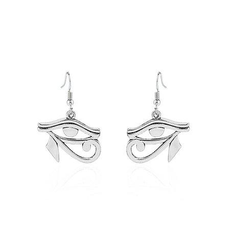Gothic Eye of Horus Ra Earrings – ROCK 'N DOLL