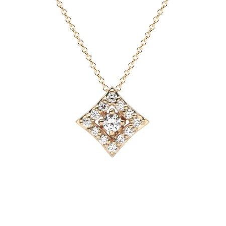 Regalo Diamond Pendant in 14K Yellow Gold with Diamonds by GiGi Ferranti