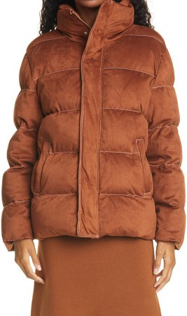 Ace Stand Collar Puffer Coat