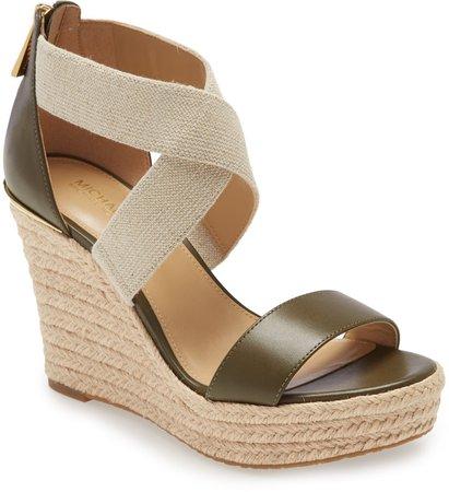 Prue Platform Wedge Sandal