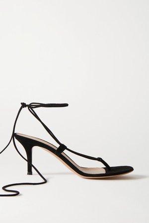 70 Suede Sandals - Black