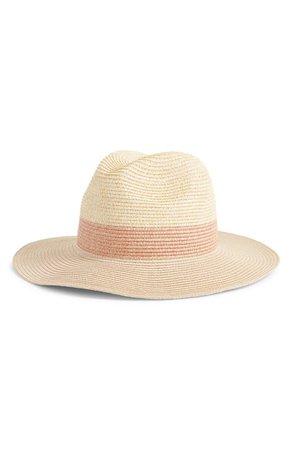 Halogen® Packable Panama Hat | Nordstrom
