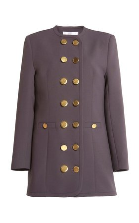 Double-Breasted Mini Blazer Dress by George Keburia | Moda Operandi