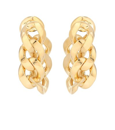 Bottega Veneta - Chain drop earrings | Mytheresa