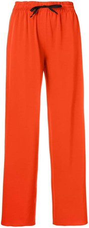 Blanca wide leg tapered trousers