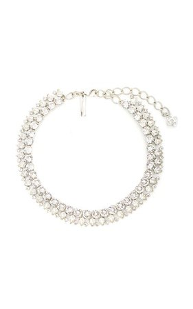 Glass, Crystal And Stone Necklace By Oscar De La Renta | Moda Operandi