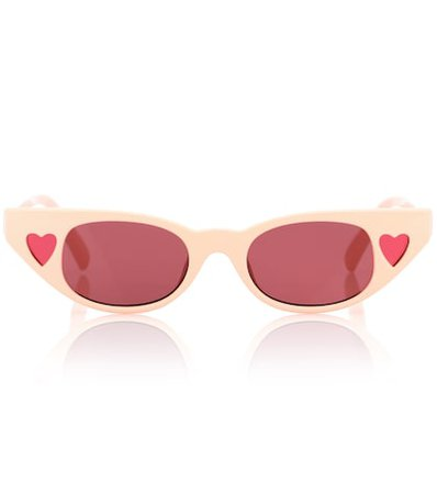 x Adam Selman The Heartbreaker sunglasses