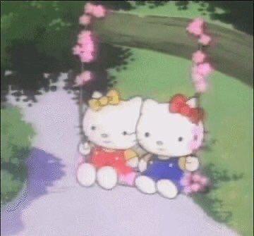 vintage hello kitty cartoon