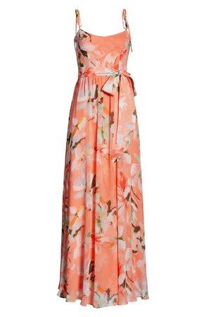 Dress the Population Hollie Floral Maxi Dress   Nordstrom