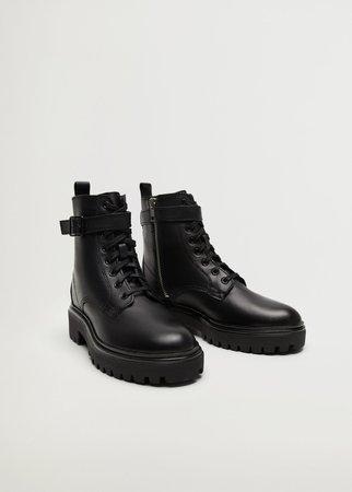 Buckle ankle boots - Women | Mango United Kingdom