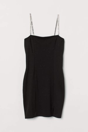 Fitted Dress - Black