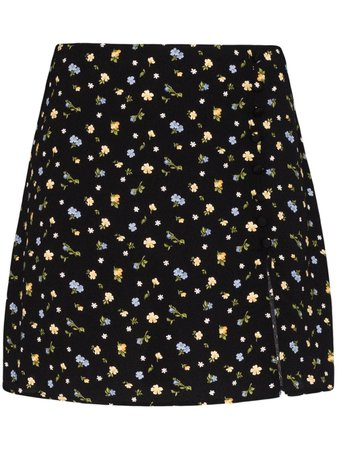 Reformation Fran floral-print Mini Skirt - Farfetch