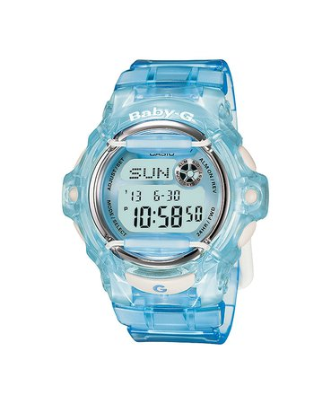 G-Shock Women's Digital Baby-G Blue Resin Strap Watch 43mm & Reviews - Watches - Jewelry & Watches - Macy's
