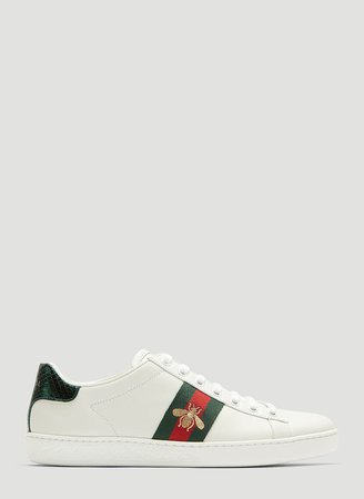 Ace Embroidered Bee Sneakers