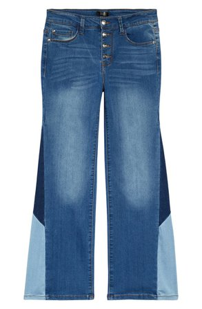Kids' Patch Flare Jeans | Nordstrom