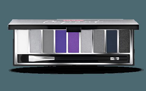 Dark eyeshadow pallet