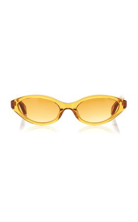 Sharon Cat-Eye Acetate Sunglasses by Kaleos Eyehunters | Moda Operandi