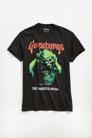 Goosebumps Haunted Mask Tee | Urban Outfitters