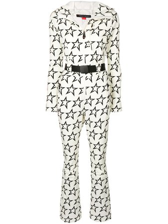 White Perfect Moment Star Suit jumpsuit W18W0551738 - Farfetch