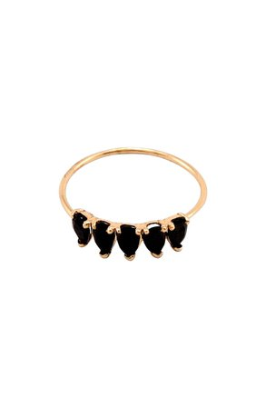 Loren Stewart Black Onyx Stacking Ring | Nordstrom