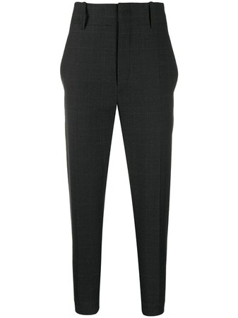 Isabel Marant Étoile Tapered Cropped Trousers - Farfetch