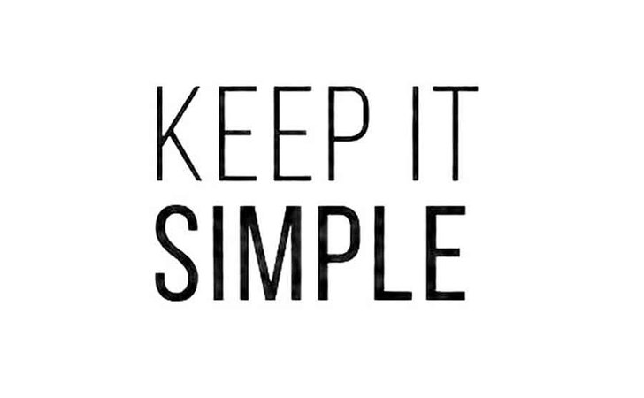 keep it simple text - Google Search