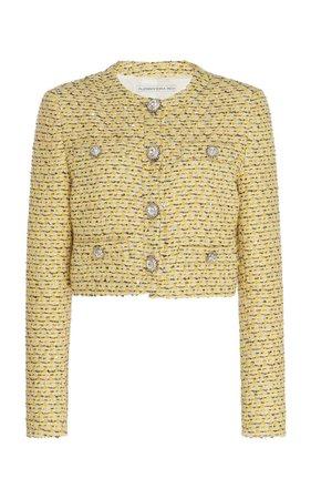 Alessandra Rich   embellished tweed jacket