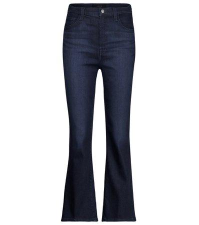 J Brand - Franky high-rise bootcut jeans | Mytheresa