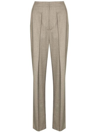 Shop Stella McCartney Ava tapered tailored trousers with Express Delivery - Farfetch