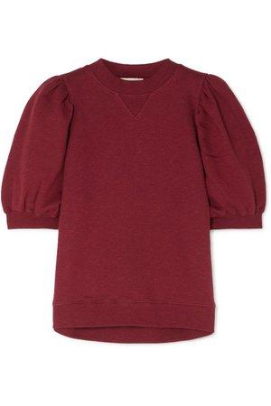 Ulla Johnson | Rami cotton-jersey sweatshirt | NET-A-PORTER.COM