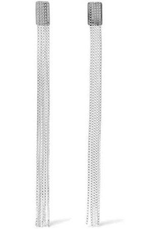 Saskia Diez | Fringe silver earrings | NET-A-PORTER.COM