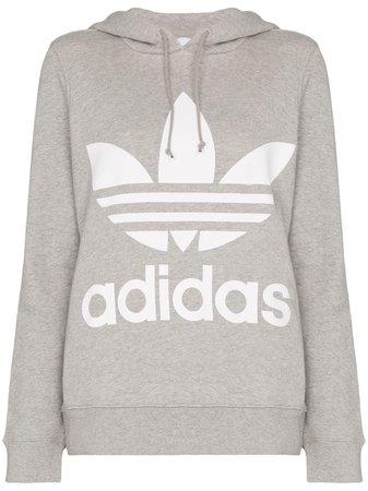 Adidas Trefoil Logo Hoodie | Farfetch.com