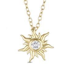 Rapunzel Sun Necklace