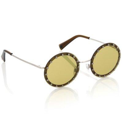 Valentino Garavani Round Sunglasses - Valentino | mytheresa.com
