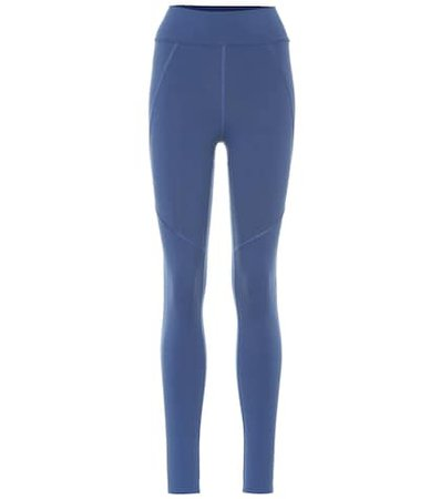 Tuxedo high-waisted leggings
