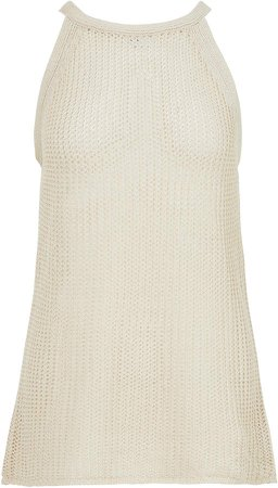 LVIR Halter-Neck Sleeveless Knit Size: S