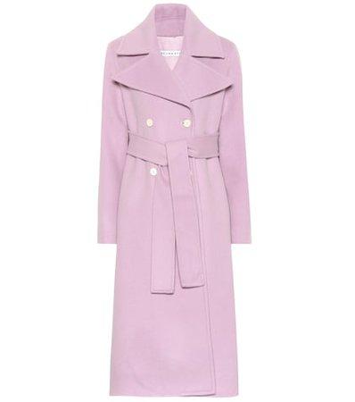 Simone wool-blend coat