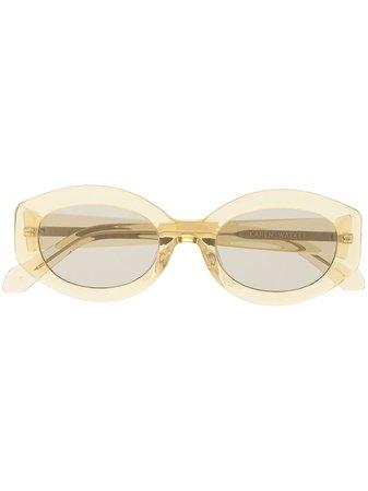 Karen Walker Bishop Sunglasses - Farfetch