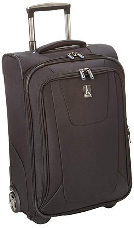 Amazon.com | Travelpro Luggage Maxlite3 22 Inch Expandable Rollaboard, Black, One Size | Suitcases