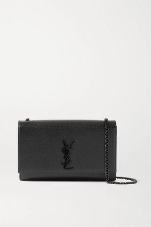 Black Kate textured-leather shoulder bag | SAINT LAURENT | NET-A-PORTER