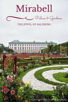 Mirabell Gardens Salzburg Austria - Pinterest