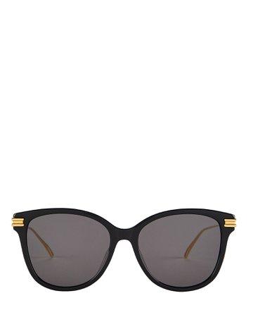 Bottega Veneta | Oversized Rectangle Sunglasses | INTERMIX®