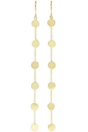 Jennifer Meyer | Circle 18-karat gold earrings | NET-A-PORTER.COM