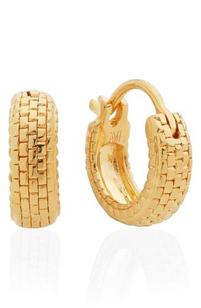 Monica Vinader x Doina Tiny Huggie Earrings | Nordstrom